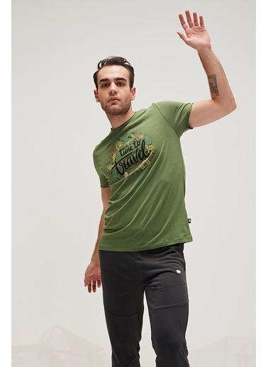 Bad Bear Tişört Yeşil